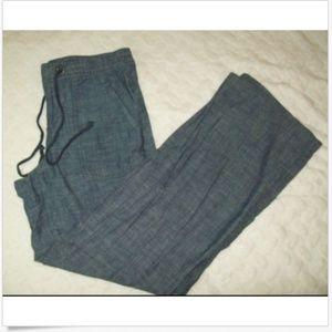 Banana Republic Drawstring Pants Size 8 Martin Fit